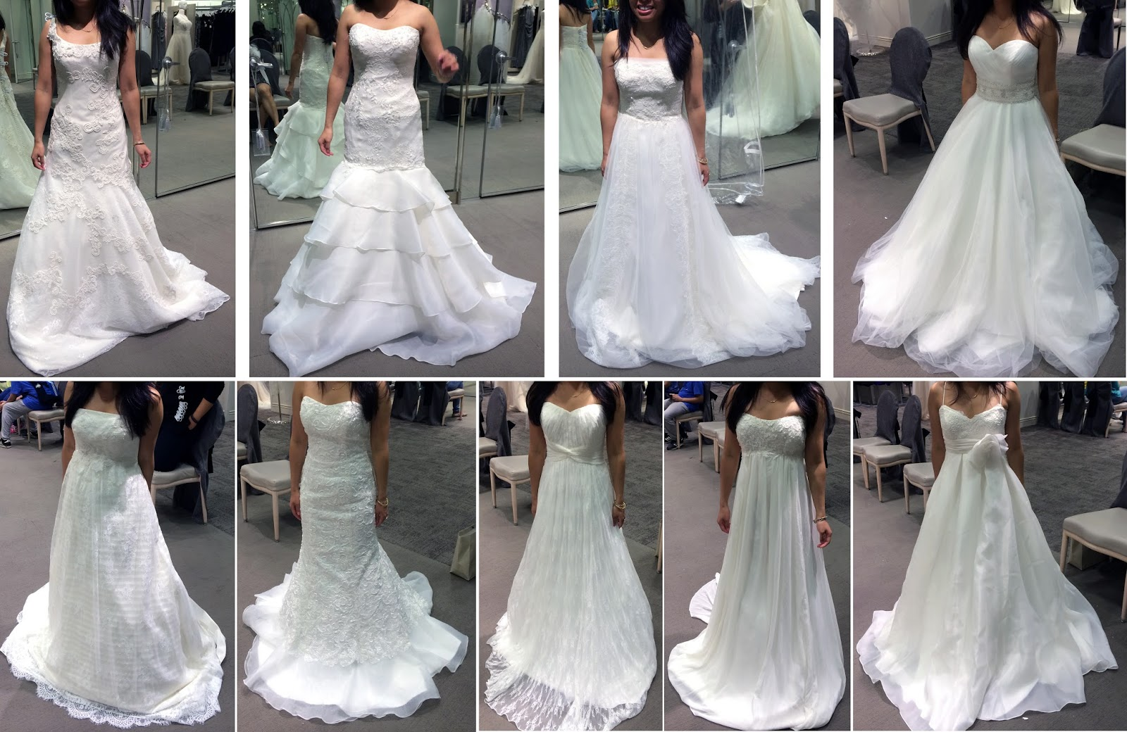 Picking The Dress David39s Bridal Kleinfeld Rk Bridal