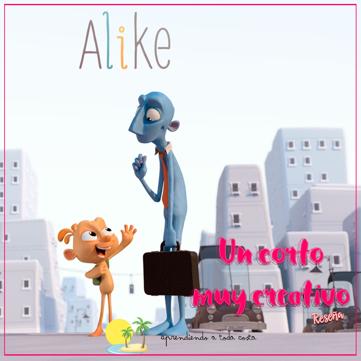 Alike, un corto muy creativo