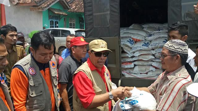 Loekman : Jangan Coba Potong Bantuan Banjir, Akan Saya Beri Sanksi Tegas