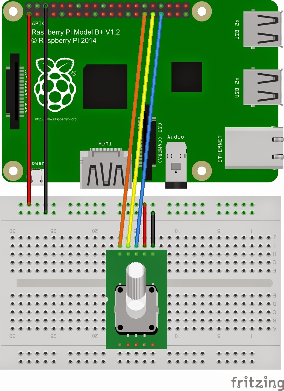 Stuff About Code Raspberry Pi And Ky040 Rotary Encoder