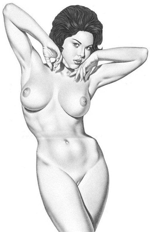 вечером рисунки карандашом девушки голые трахается парнемна диване