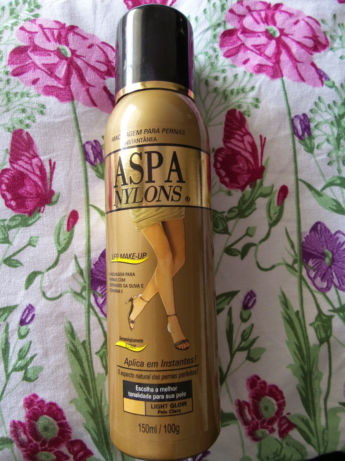 ad13d8d77 Maquiagem para as pernas Aspa Nylons