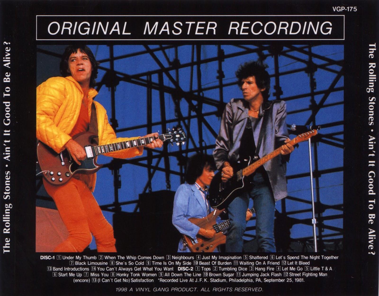 Bootleg Rambler The Rolling Stones 1981 09 25 Jfk Quot Ain