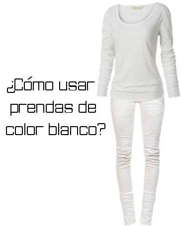C mo usar el color blanco moda lista - Ropa interior combinaciones ...