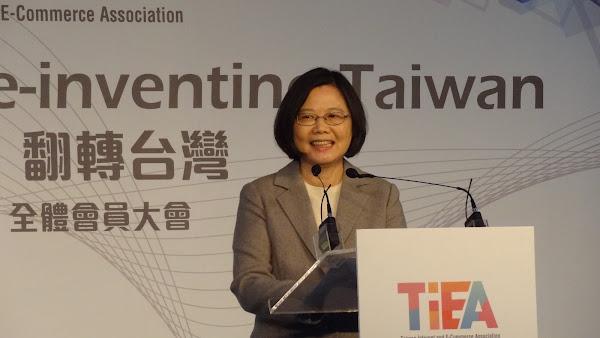 蔡英文:「軟體人才」與「國家戰略」是台灣未來發展兩大關鍵!|數位時代