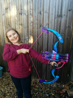 Top Ender and her Nerf Rebelle Secrets and Spies Arrow Revolution Bow