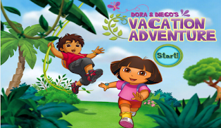 Dora and Diego's Vacation HD Games Download