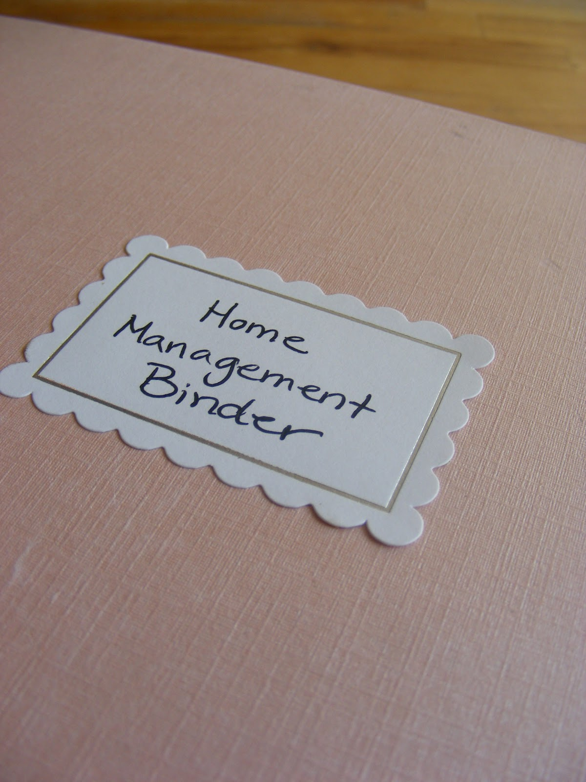 My Home 24 My Home Management Binder | The Complete Guide To Imperfect Homemaking