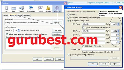 how to create indian web proxy server