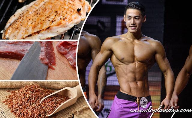 TOP 5 loại thực phẩm tốt nhất cho cơ bắp dành cho GYMer