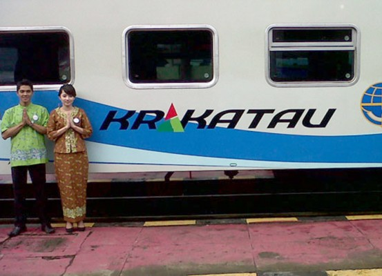 KA Krakatau Ubah Nama Menjadi KA Singasari