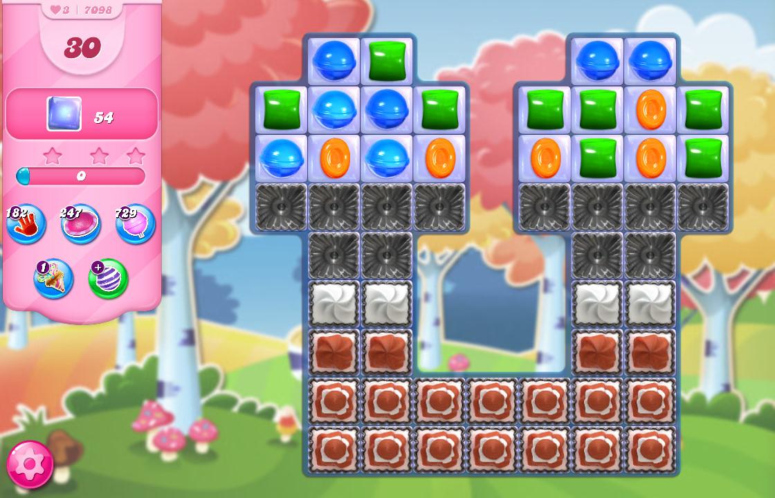 Candy Crush Saga level 7098