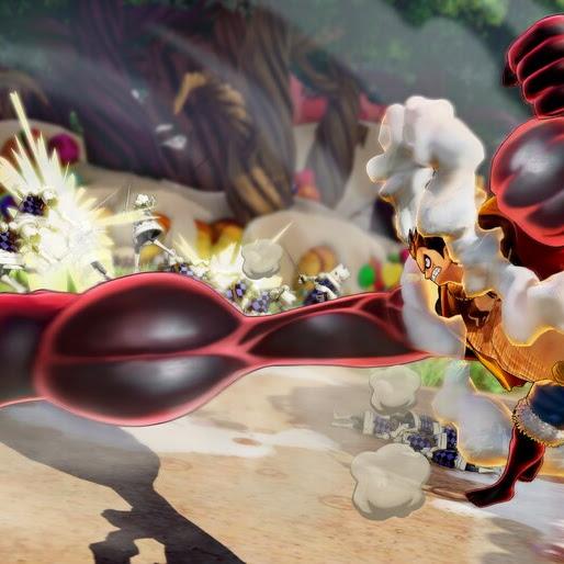 Luffy Gear Fourth Boundman One Piece Pirate Warriors 4 4k Wallpaper 3 683