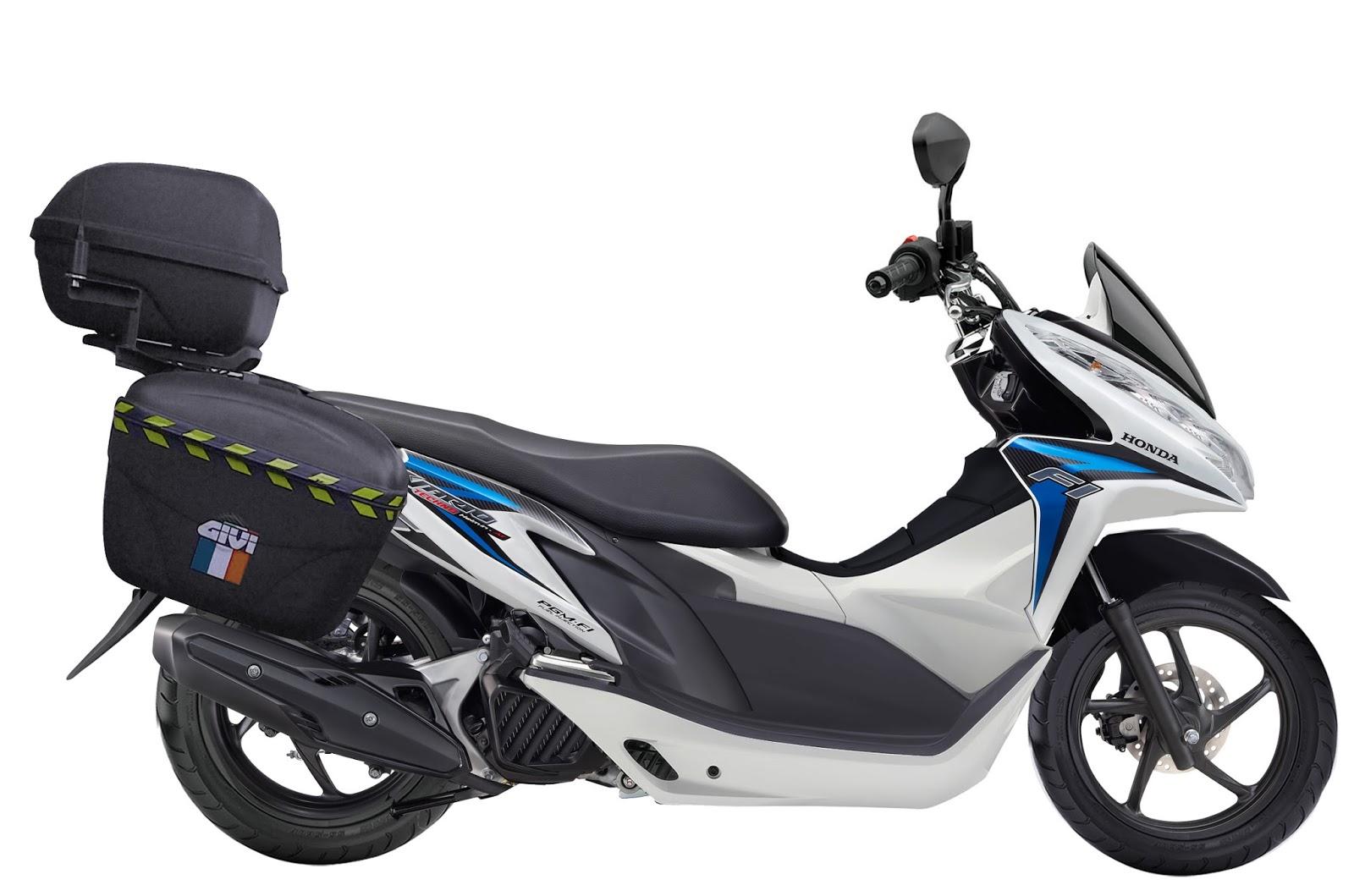 Modifikasi Honda Vario 125 Airbrush Touring Jari Jari Mesin Motor
