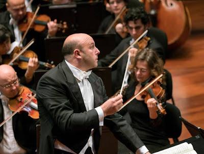 Italian conductor RICCARDO FRIZZA (Photo © by János Posztós, Müpa Budapest)