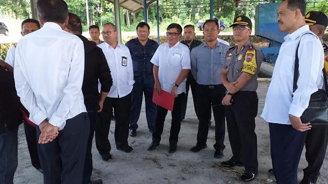 Kementerian Perindustrian RI Kunjungi Sawmill Pengolahan Kayu di Bitung