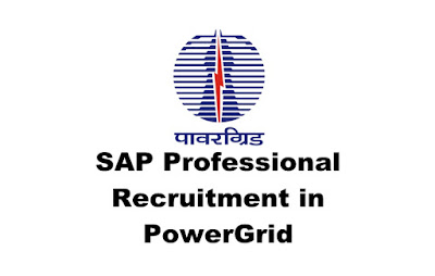 SAP Professional Recruitment in PowerGrid: 2019 : Online Apply