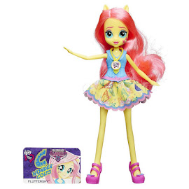 MLP Equestria Girls Friendship Games School Spirit Fluttershy Doll