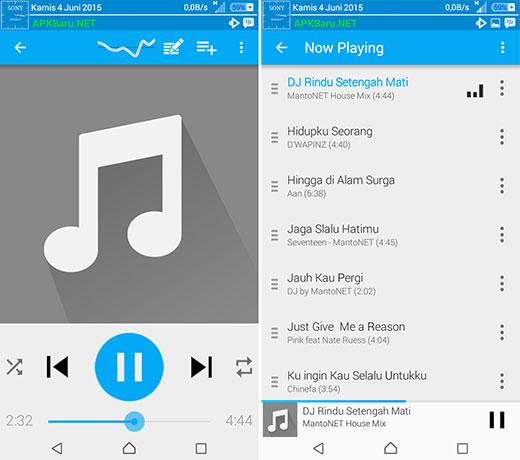 rocket music player premium terbaru