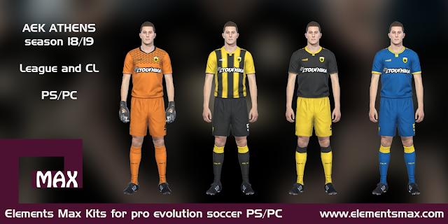 AEK 18/19 pes kits