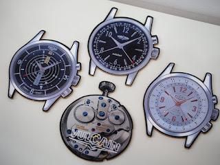 VULCAIN Cricket Collection 腕時計型のコースターをお買い取り致しました