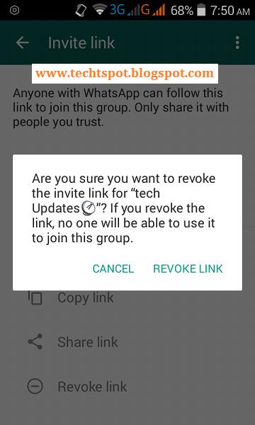 Revoke whatsapp group join link revoke whatsapp group join link 5 stopboris Gallery