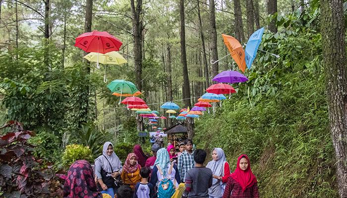 Srambang Park Ngawi yang Ramai