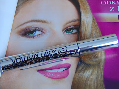 Eveline, Mascara Volumix Fiberlast Lenght & Curl Up