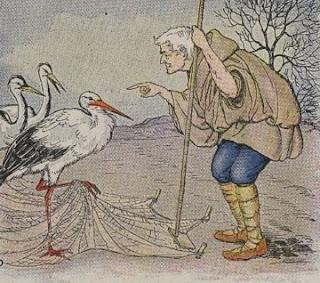 Petani dan Burung Bangau