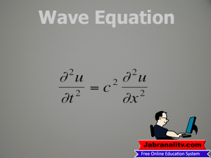 Top 10 Mathematical Equations That Changed The World-Wave-Equation