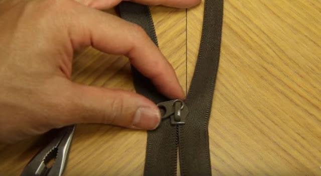 Cách sửa khóa dây kéo chi tiết