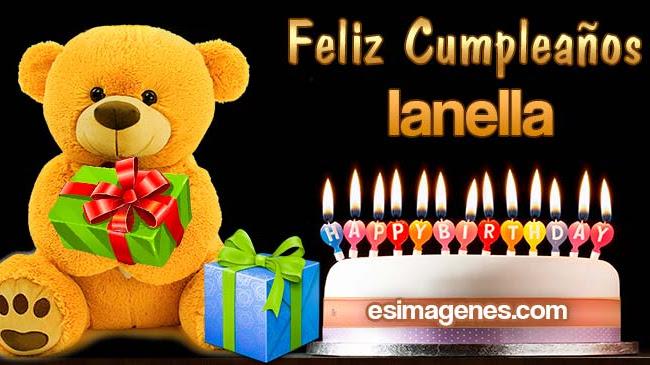 Feliz Cumpleaños Ianella