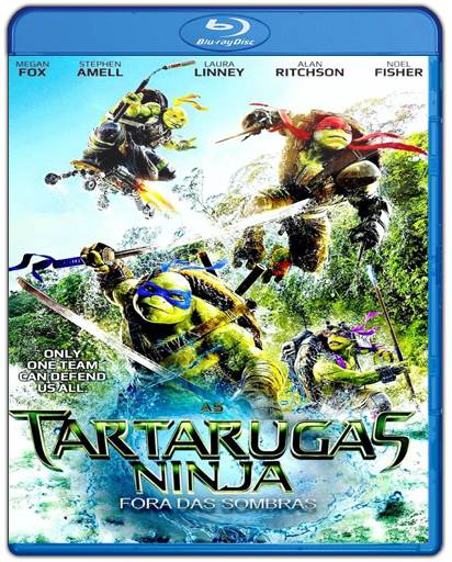 Baixar As Tartarugas Ninja 2 Fora das Sombras 720p Dual Áudio Bluray Torrent
