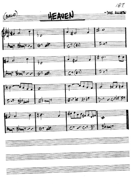 Partitura Flauta Duke Ellington