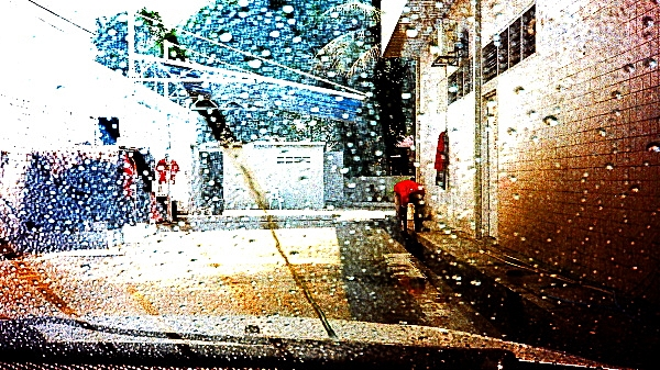 #AnalogDiary At The Car Wash, Olympus XA1 02