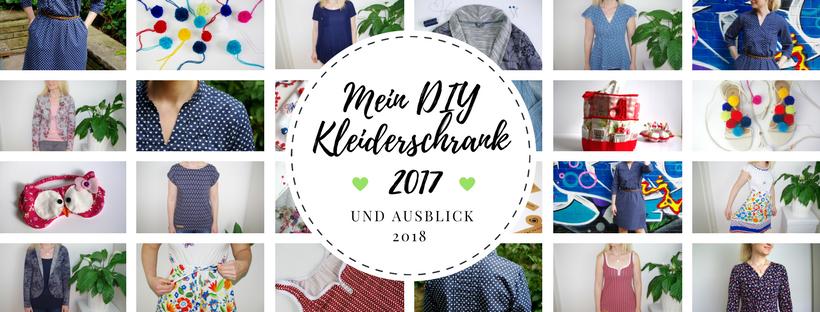 DIY Kleiderschrank 2017 Rückblick