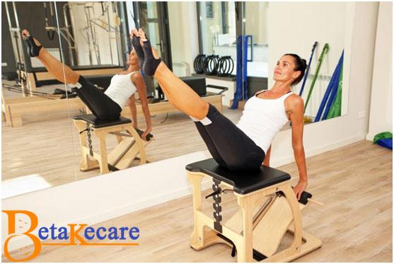 Pilates Neck Remedy on Wunda Chair