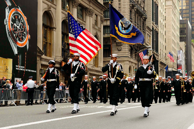 Desfile do Columbus Day em Nova York