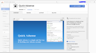 tampilan install quick adsense