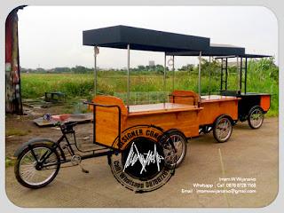 jasa produksi gerobak sepeda