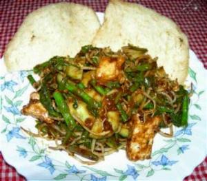 Kuliner Situbondo (rujak petis)