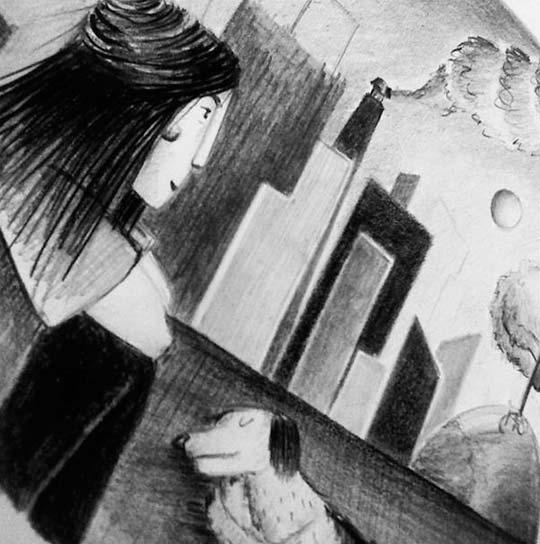 Ilustración de Lucía Ruiz aka Lipa