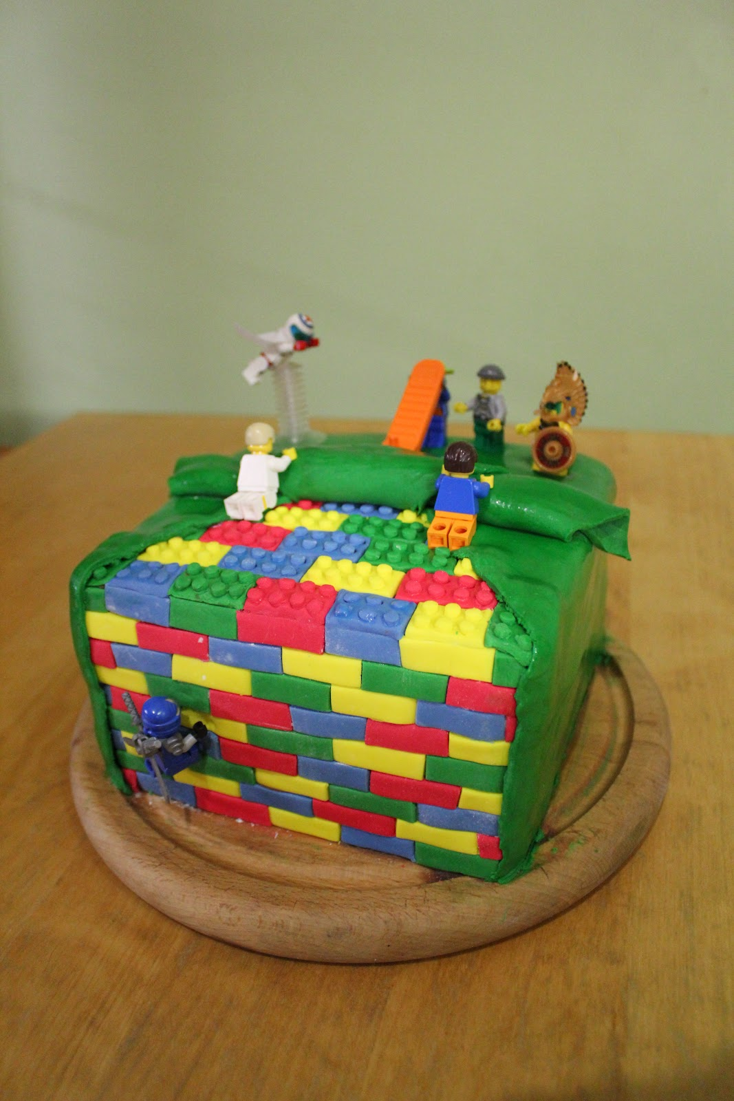 Chaos Kids Crochet And Cake 10th Birthday Cake Lego