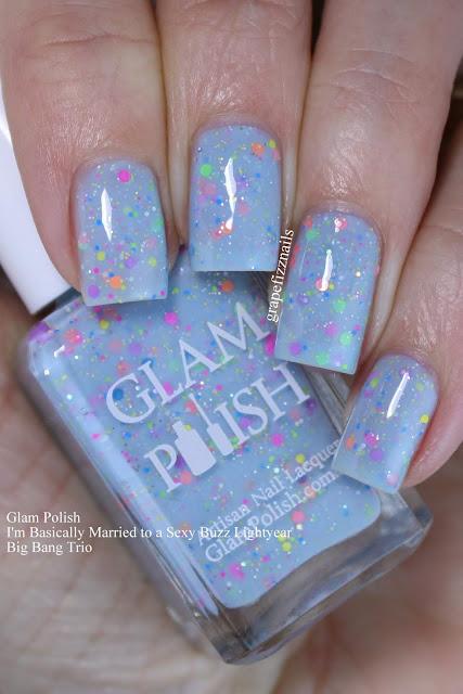 Glam Polish I'm Basically Married to a Sexy Buzz Lightyear