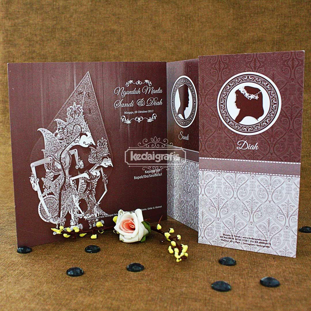 730 Koleksi Ide Desain Undangan Pernikahan Wayang Cdr HD Terbaik Download Gratis