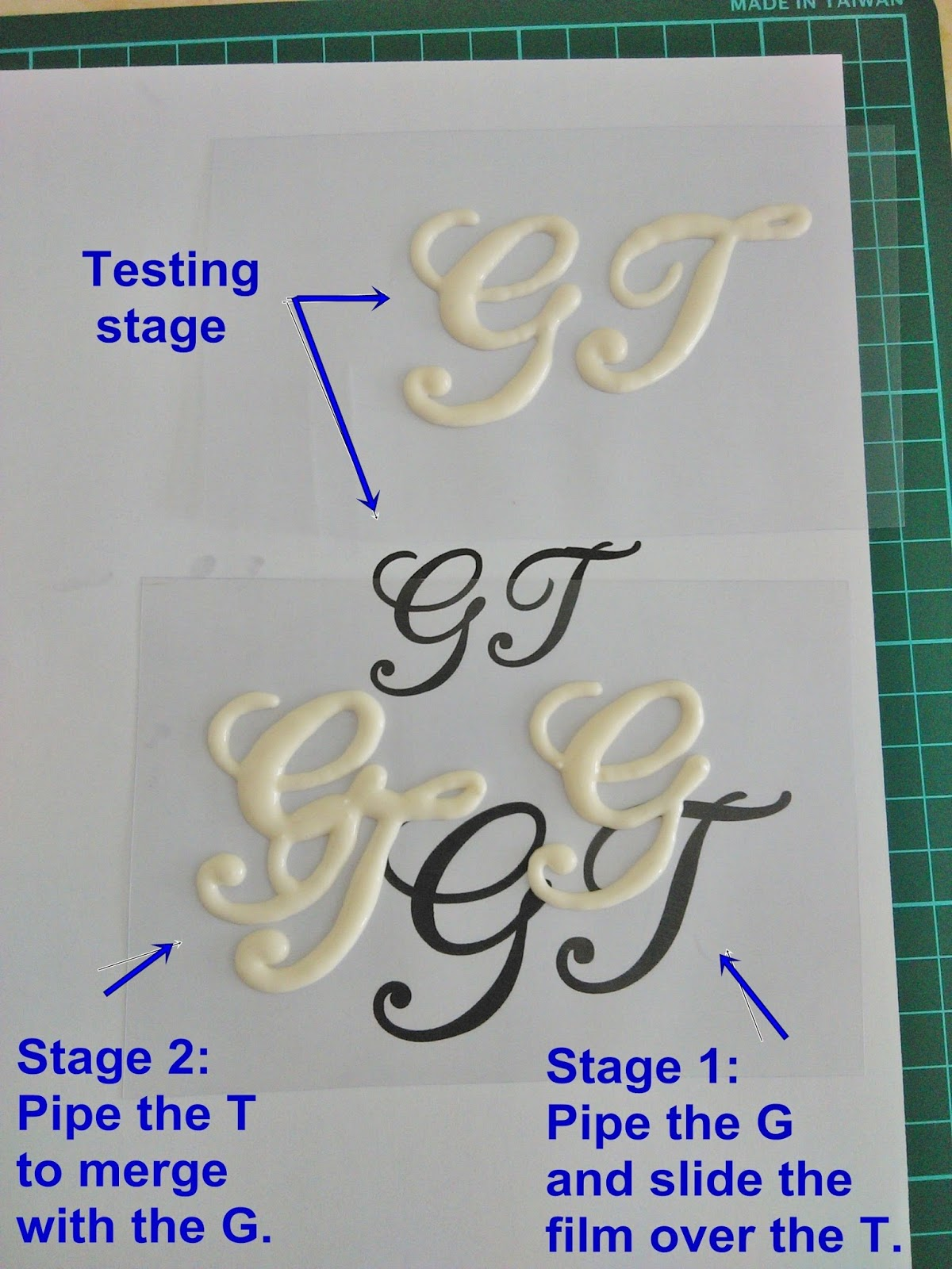 print out monogram