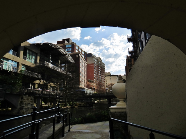 River Walk, downtown San Antonio, Sunday, February 25, 2018