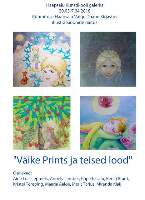 Aide Leit Lepmets illustratsioon joonistus art väike prints Little prince