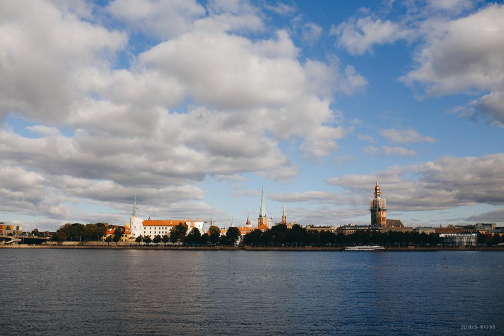 Rīgas pils panorāma