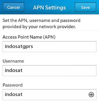 Cara Setting APN Kartu IM3/Mentari 4g LTE Terbaru